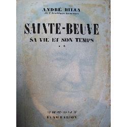 biografias: sainte-beuve. sa vie et son temps. andre billy.