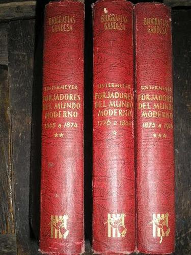 biografias...forjadorescdel mundo moderno