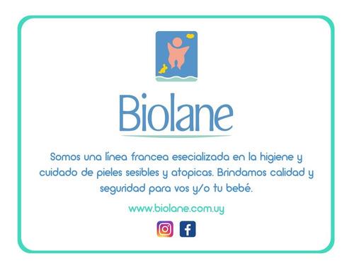 biolane gel para cuerpo y cabello 2 en 1 - 200ml