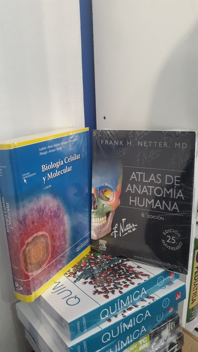 Biologia Celular Molecular Lodisch + Atlas Anatomia Netter 6 ...