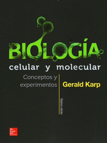 biologia celular y molecular de karp