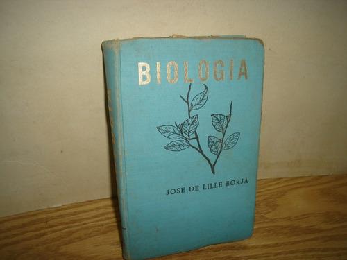 biología - josé de lille borja
