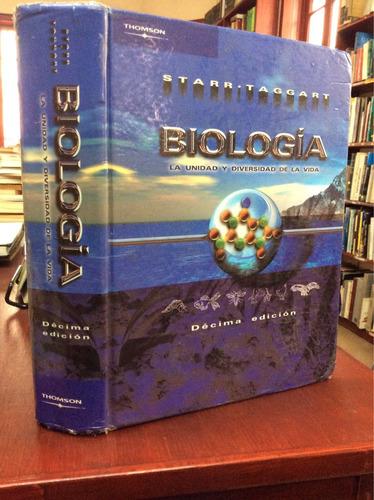 biología. la unidad y diversidad de la vida. 10 edicion.