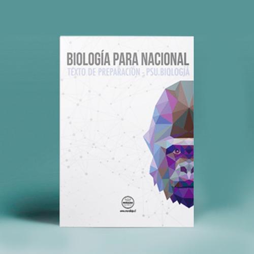 biología para nacional 1ª edición - texto de preparación psu