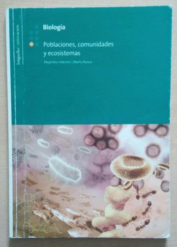 biología poblaciones comunidades y ecosistemas
