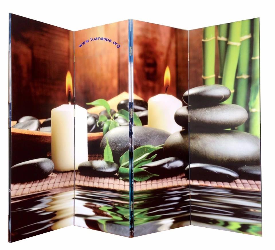 Biombo 4 o paneles en madera con dise os personalizados - Biombos para exteriores ...