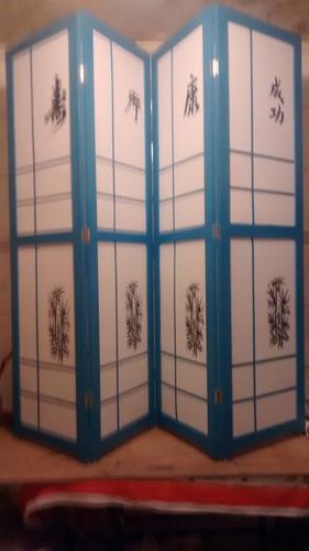 biombo azul  e ou outras cores