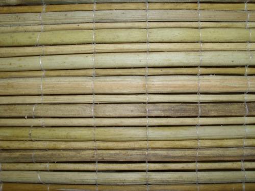biombo de junco y madera  fabrica dire del delta x hoja