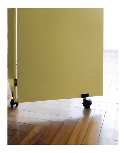 biombo de madera divisor de ambientes sin pintar x hoja