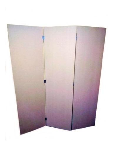 biombo separador de mdf (color crudo ) precio x una hoja