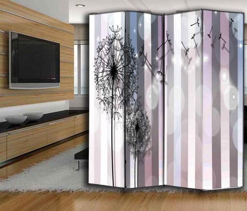 biombo  separador  impresos  naturaleza - precio por hoja