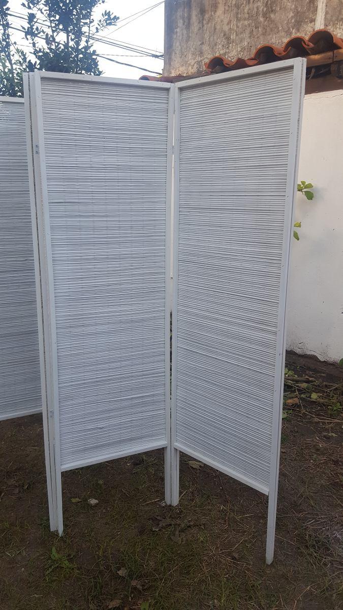 Biombos De Junco Blanco Precio X Hoja Envios A Todo El Pais  # Muebles Junco Santo Domingo