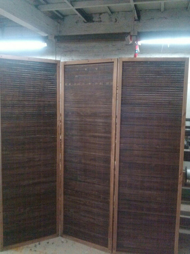 biombos de madera hanga roa para separar ambientes