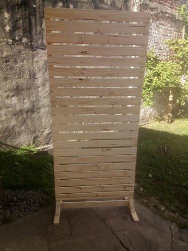biombos separadores de ambiente, decoración 180x090 x hoja.
