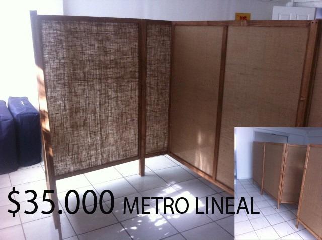 biombos y separadores de ambientes desde 35000 - Separadores De Ambiente