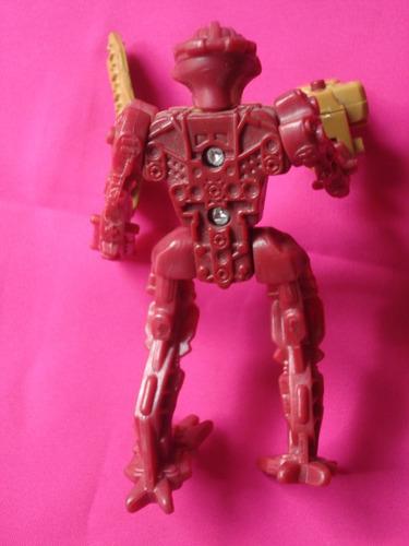 bionicle coleccion lego mc donald´s 2006, original con armas