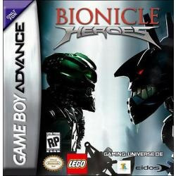bionicle - heroes / gameboy advance gba /  ds