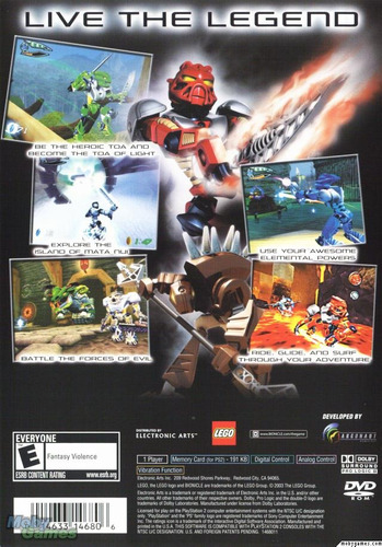 bionicle - ver video / playstation 2  ps2