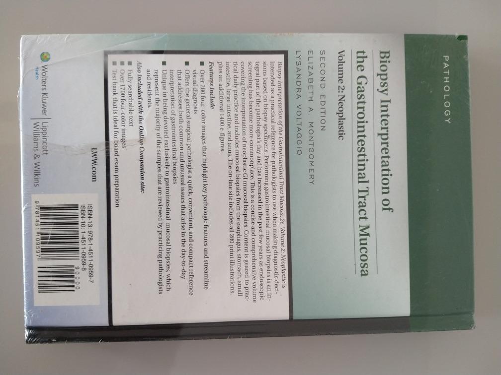 biopsy interpretation of the gastrointestinal tract mucosa volume 2 neoplastic