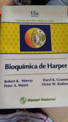 bioquimica de harper libro original