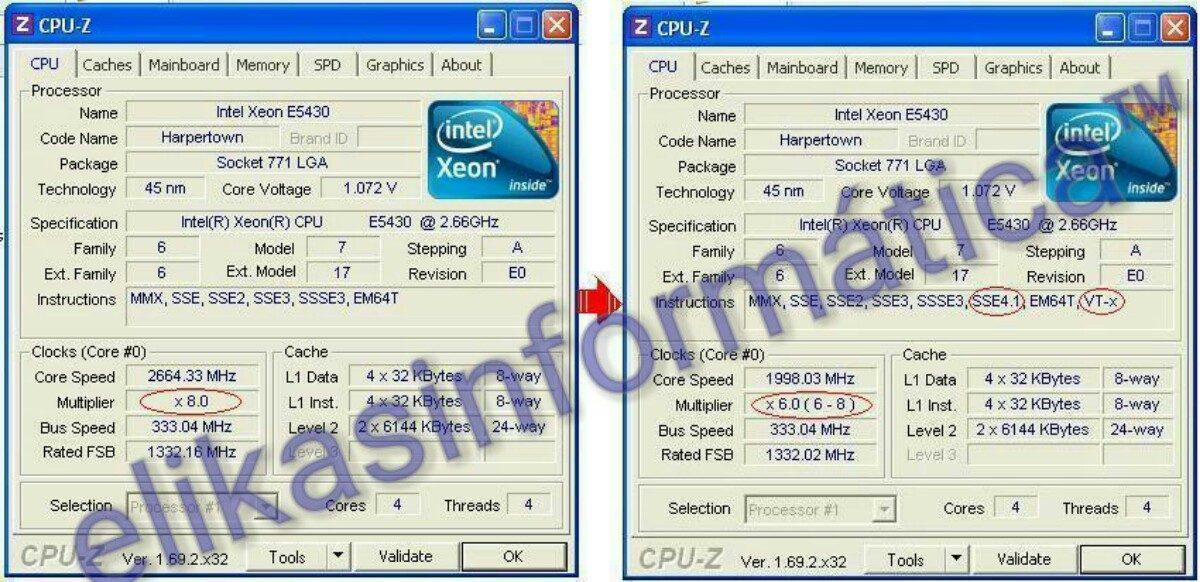Bios Asus P5k-se P5k-se/epu Com Microcodes Xeon Envio Grátis