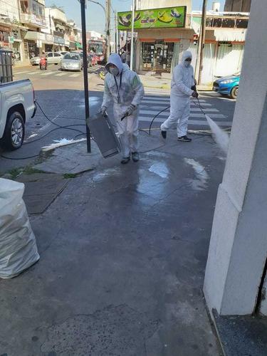 bioseg limpieza, desinfección y sanitización de comercios.