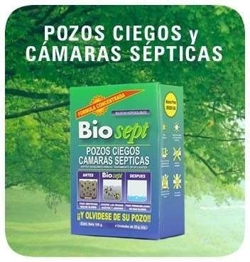 biosept pozo ciego camara septica (12 cajas)