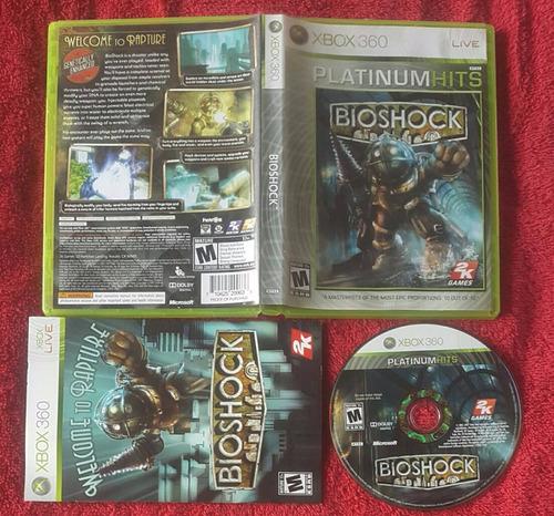 bioshock 1 - fisico - platinum hits / xbox 360 live & one