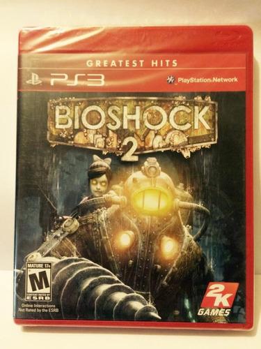 bioshock 2 ps3, nuevo, sellado.