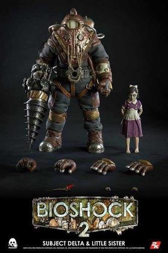bioshock 2 subject alpha threezero 1/6 no hot toys