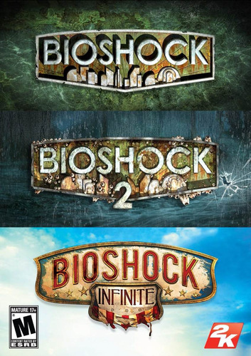 bioshock + bioshock 2 + bioshock infinite ps3 digital gcp