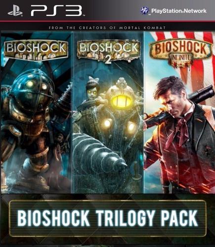bioshock collection trilogia 3 juegos + dlc - ps3 oferta