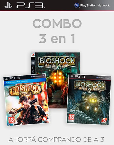 bioshock infinite ps3 incluye gratis 1 y 2 dixgamer