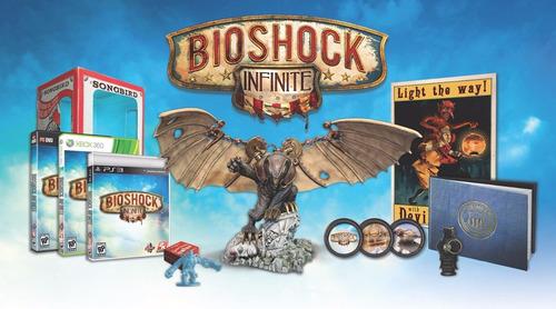 bioshock infinite ultimate pájaro cantor edición video juego