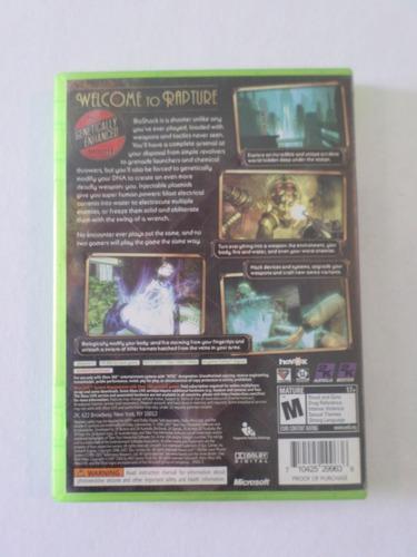bioshock xbox 360 juego