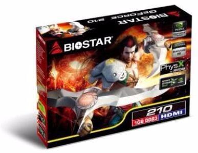 biostar ge force 210 hdmi/vga/dvi 1gb ddr3 box outlet ok !!!