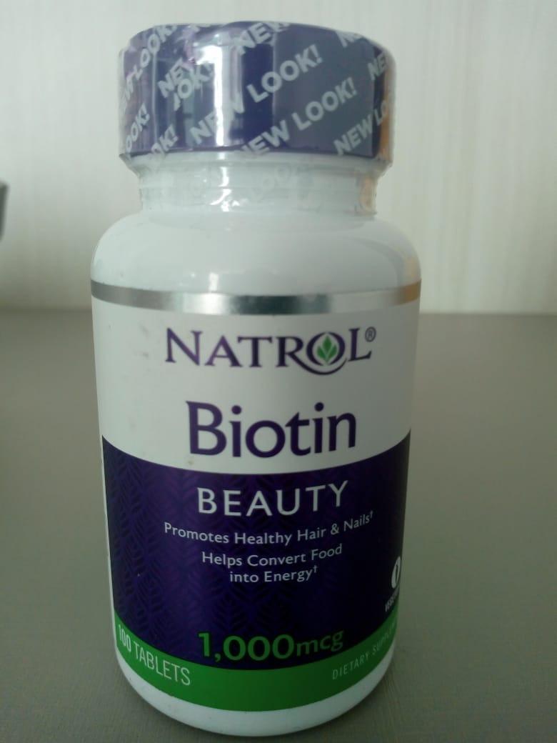 Biotina 10000mcg 100 Tablets Natrol Maximum Strengthcada R 59 Biotin 10000 Mcg Carregando Zoom