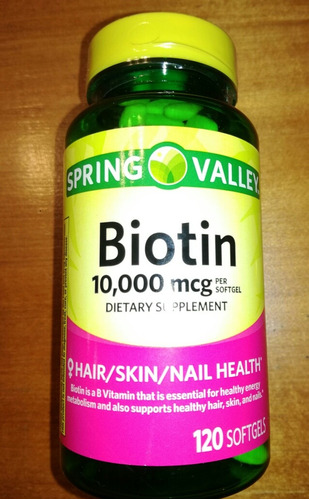 biotina 10000mcg 120 minicapsulas