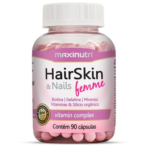 biotina 60cps + hair skin 90cps maxinutri # combo da beleza