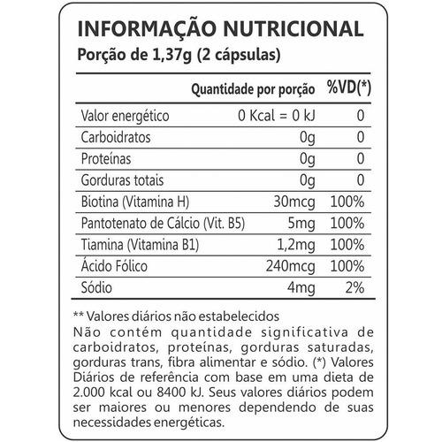 biotina firmeza & crescimento - maxinutri - 6x60 cápsulas