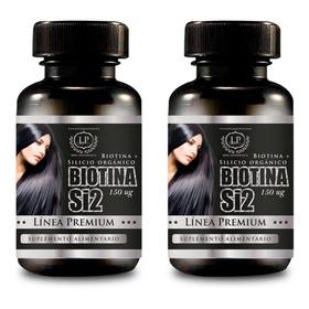 Biotina Para  6 Meses, Cabello, Uñas Y Piel (envío Gratis)