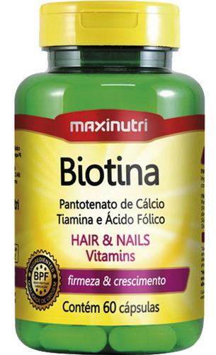 biotina + vitaminas 60cps 685mg maxinutri