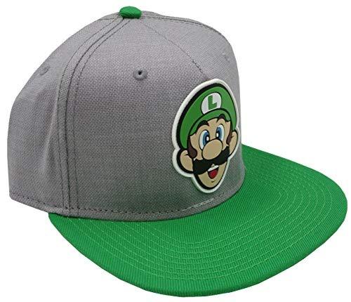 734e74844 Bioworld Nintendo Super Mario Bros - Luigi Rubber Logo