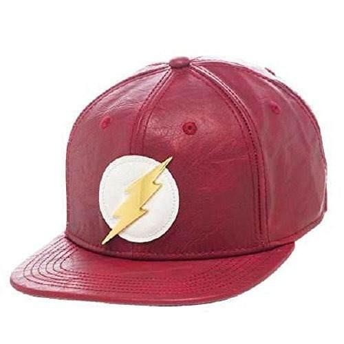 bioworld official- dc comics flash- sombrero snapback de pie