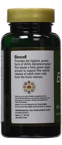 bioxcell apoya la liberación d células madre 60 cap (6 pack)