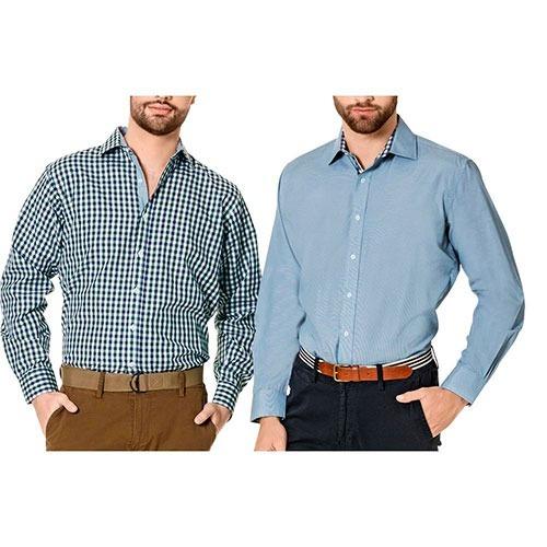 bipack camisas inf 1931  verde azul blanco caballero oi