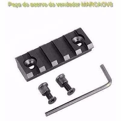 bipé com trilho tático p espingarda + trilho picatinny 20 mm