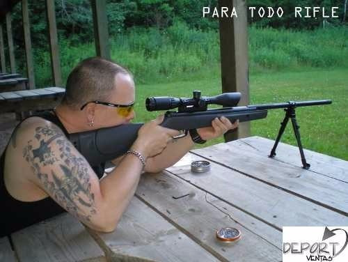 bipode regulable en altura, rifle fusil tacticos
