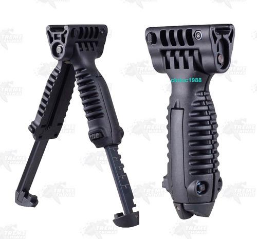 bipoide táctico ajustable riel 20mm marcadora gotcha xtreme