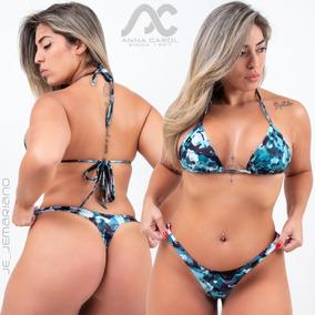 221067ed7 Biquíni Anna Carol Tamanho P - Biquinis P Femininas no Mercado Livre ...